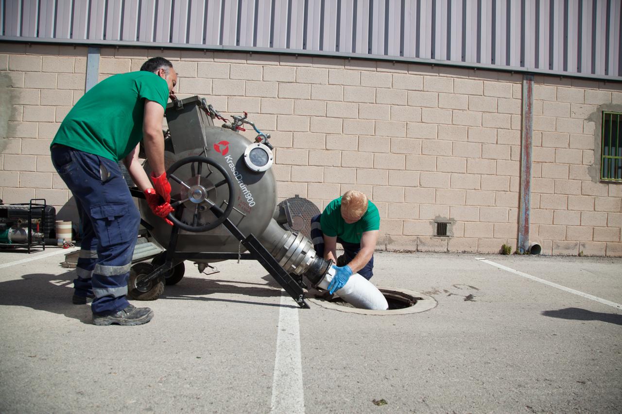 Manga reparadora de tuberías